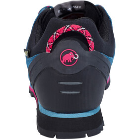 Mammut Wall Guide Low GTX Shoes Women dark pacific-light carmine